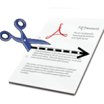 Logo PDF Scissors